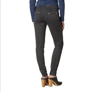PrAna Louisa skinny leg pants gray charcoal pocket